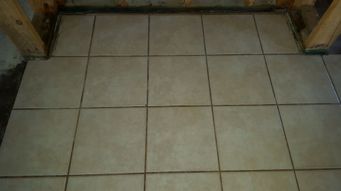 Tile After Cleaning